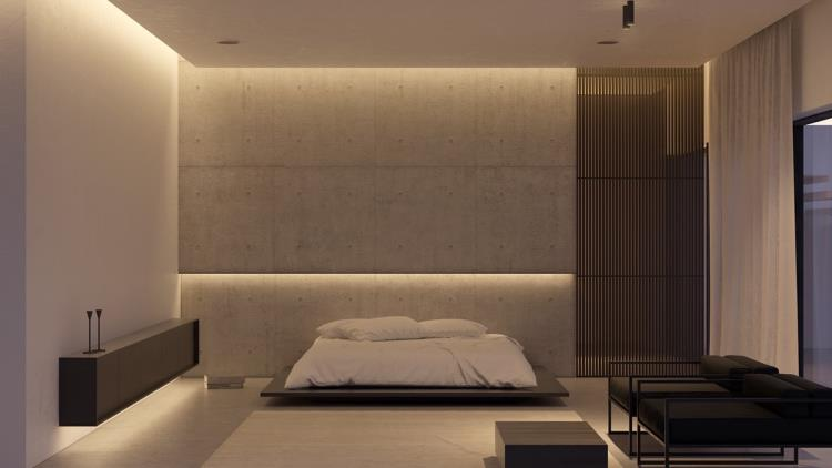 25 красивых примеров акцентной стены в спальне (24)
