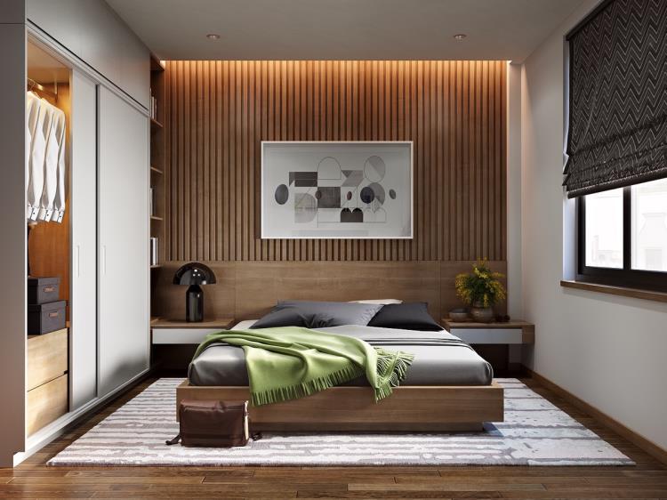 25 красивых примеров акцентной стены в спальне (5)