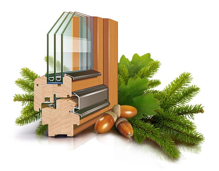 Деревянные окна особенности