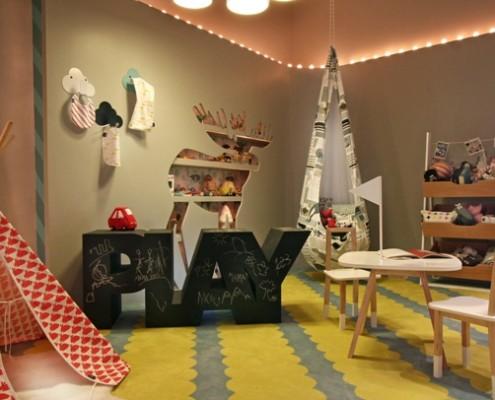интерьер комнаты дошкольника