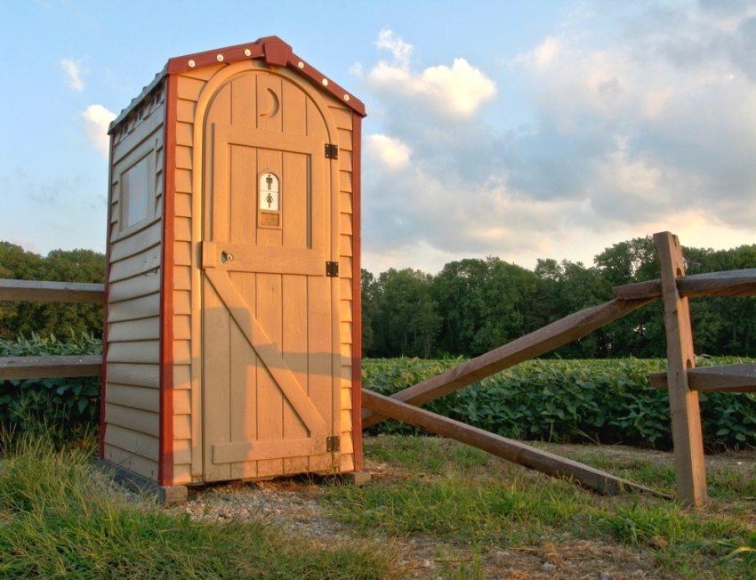 Устройство и чертежи дачного туалета1