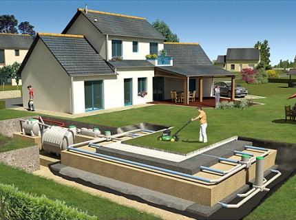 канализация загородного дома1