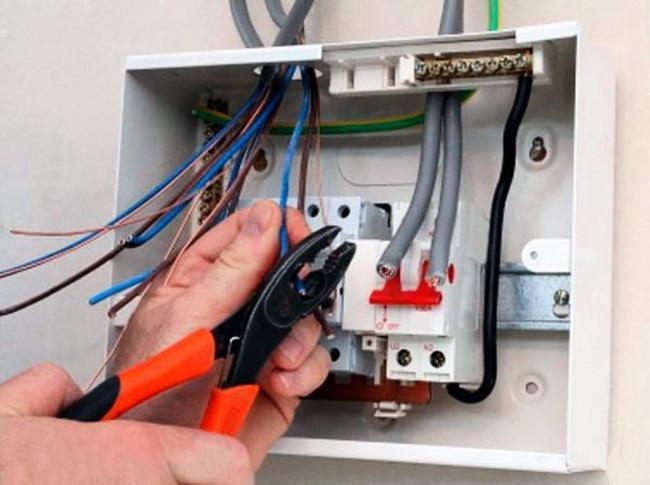 Замена электропроводки в Москве