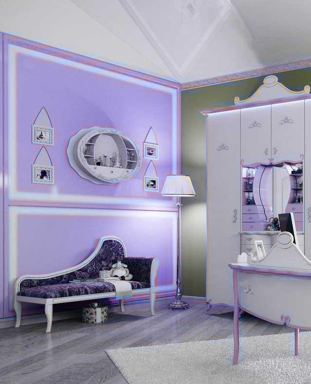 Дизайн-интерьера-детской-комнаты-для-девочки2