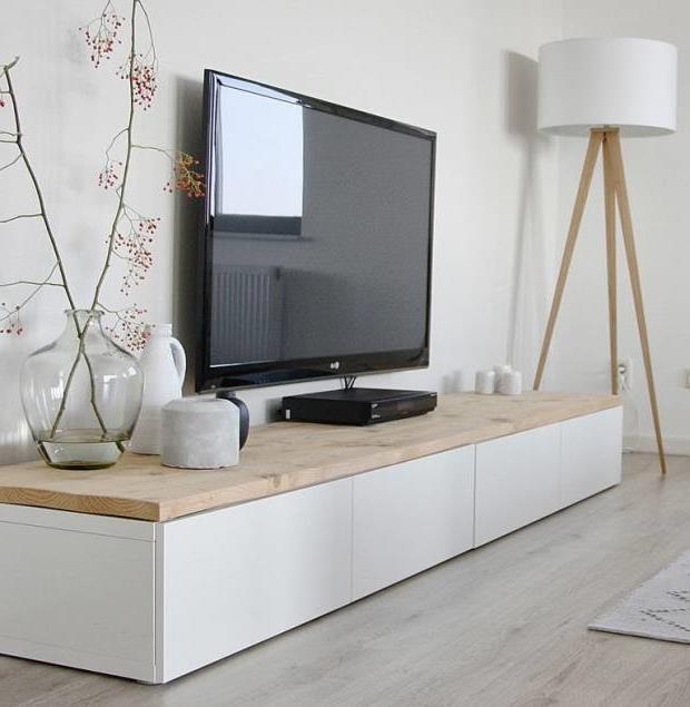 Тумба под телевизор в современном стиле фото (11)