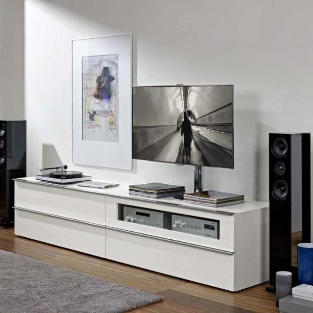Тумба под телевизор в современном стиле фото (14)