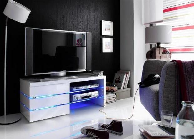 Тумба под телевизор в современном стиле фото (15)