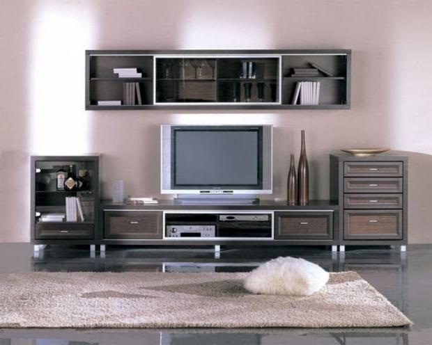 Тумба под телевизор в современном стиле фото (27)