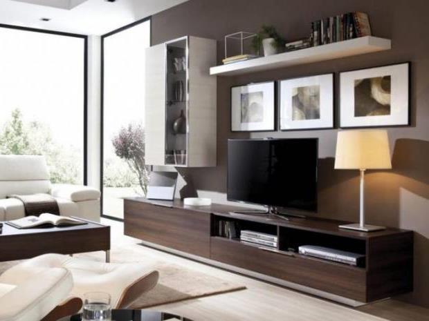 Тумба под телевизор в современном стиле фото (33)