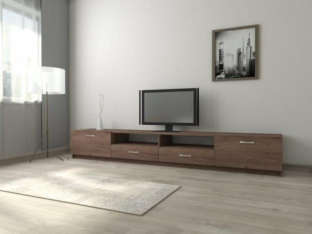 Тумба под телевизор в современном стиле фото (38)