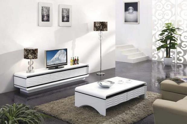 Тумба под телевизор в современном стиле фото (4)