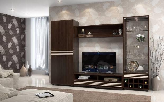 Тумба под телевизор в современном стиле фото (41)