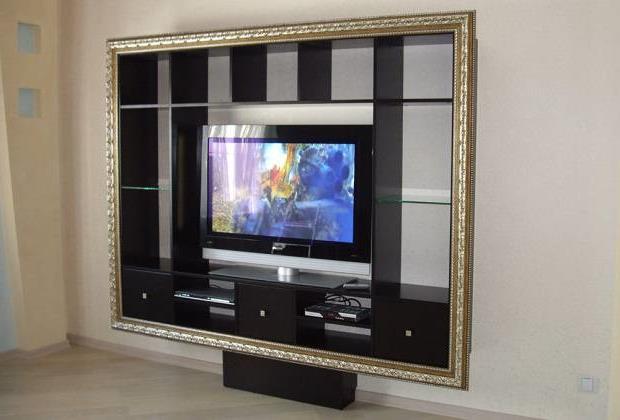 Тумба под телевизор в современном стиле фото (44)