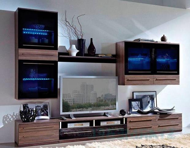 Тумба под телевизор в современном стиле фото (51)