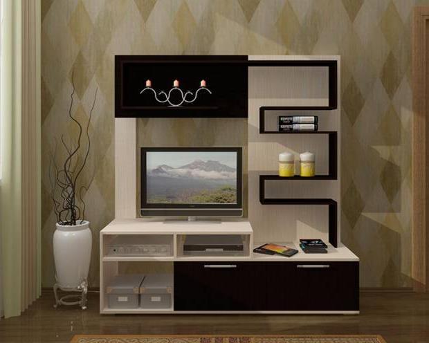 Тумба под телевизор в современном стиле фото (52)