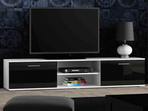 Тумба под телевизор в современном стиле фото (55)
