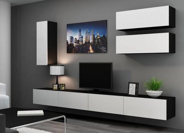 Тумба под телевизор в современном стиле фото (56)