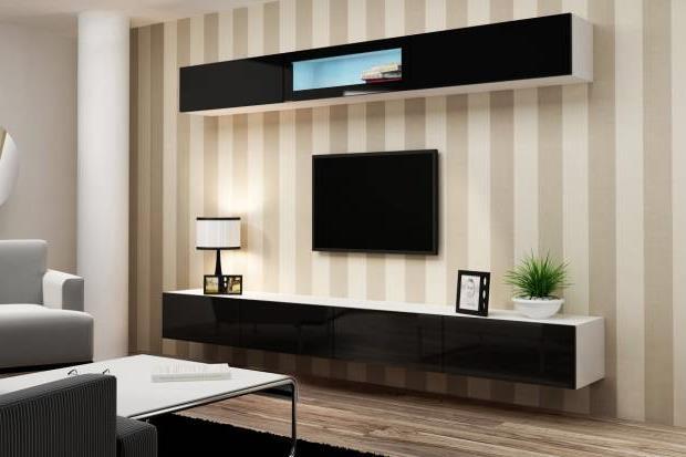 Тумба под телевизор в современном стиле фото (60)