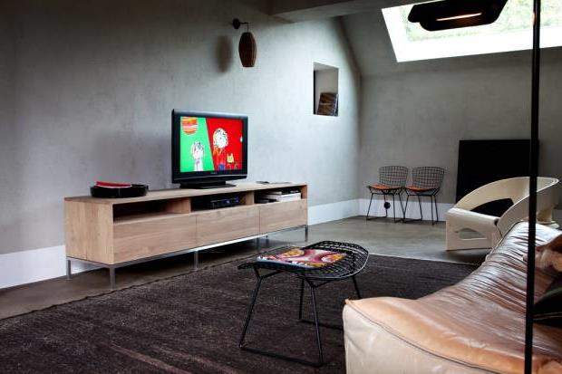 Тумба под телевизор в современном стиле фото (62)