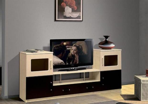 Тумба под телевизор в современном стиле фото (69)