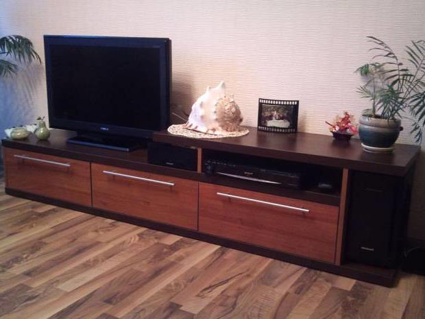 Тумба под телевизор в современном стиле фото (73)
