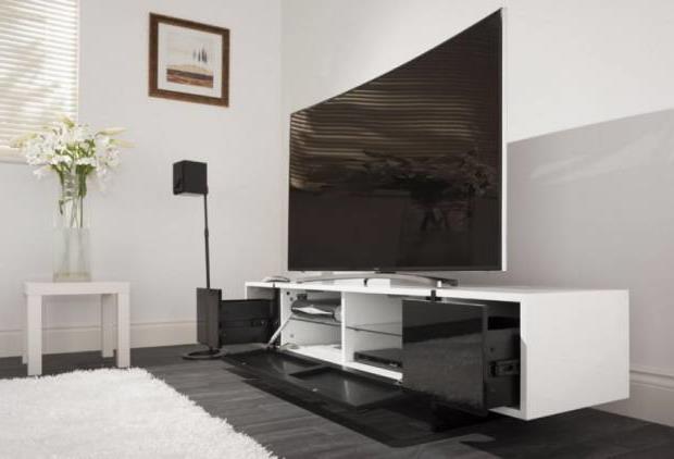 Тумба под телевизор в современном стиле фото (75)