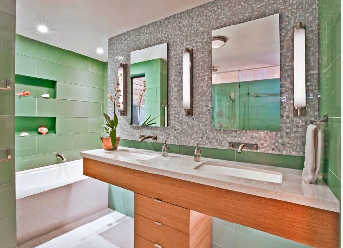 дизайн ванной комнаты фото 2017 современные идеи (2)