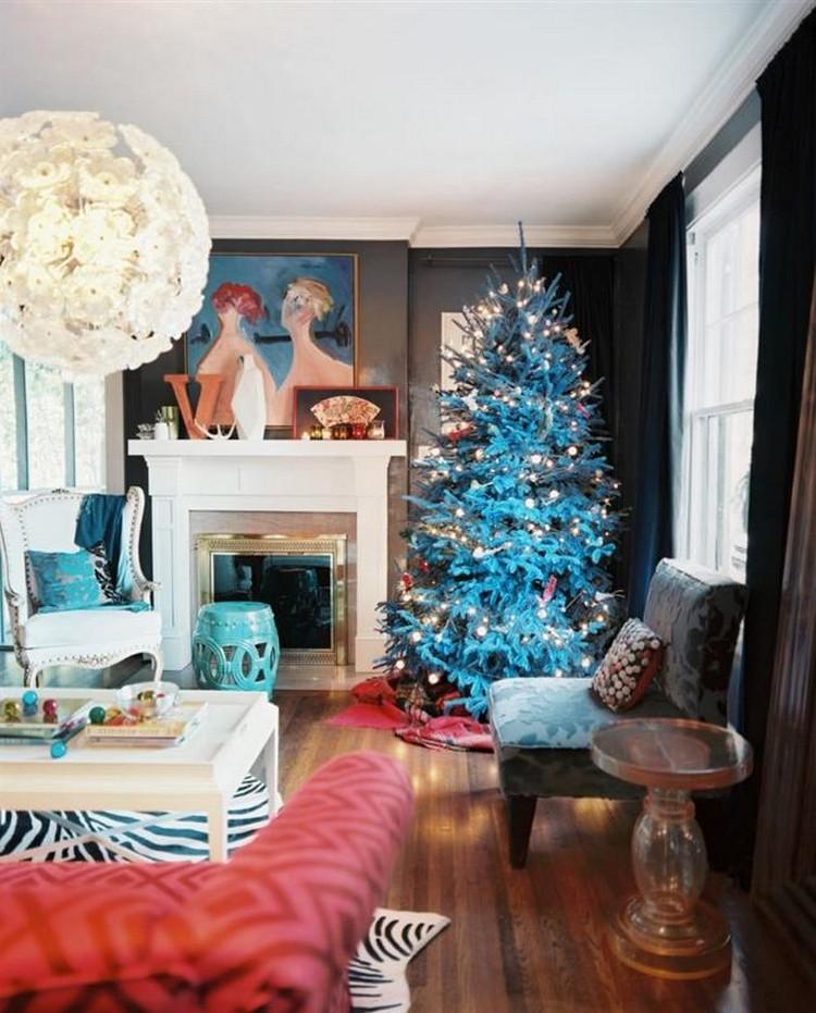 Живые елки для украшения новогоднего интерьера