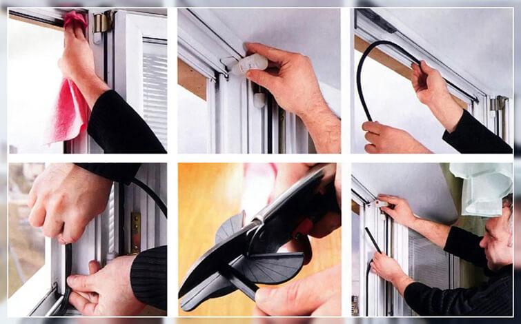 Когда и зачем нужно менять уплотнитель на пластиковых окнах