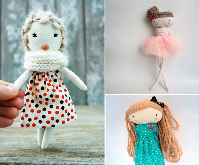 18 Восхитительных идей кукол ручной работы