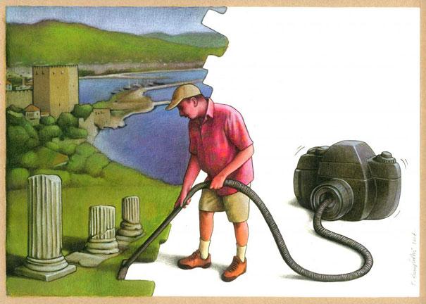 Сатирические иллюстрации Павла Кучинского