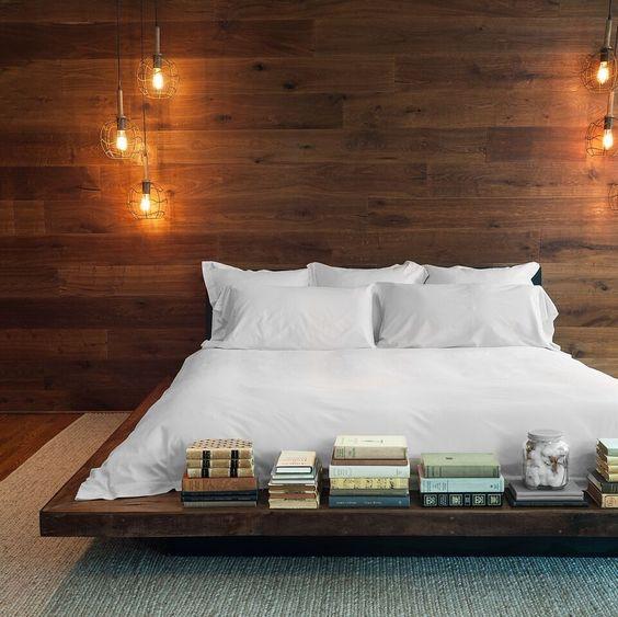 Современная кровать-подиум. ТОП 50 +мастер-класс