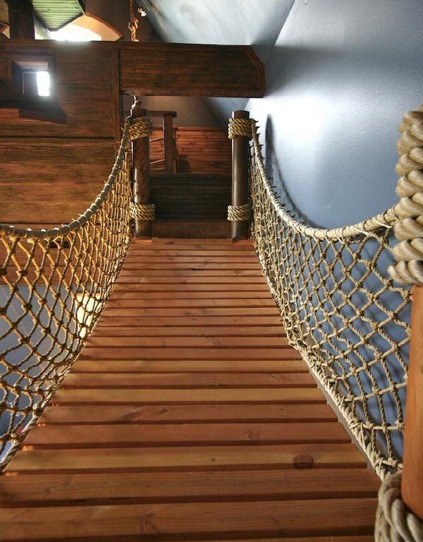30 Идей декора с использованием веревки