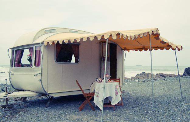 Крохотный и уютный дом на колесах
