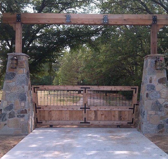 25 Удивительных примеров въездных ворот