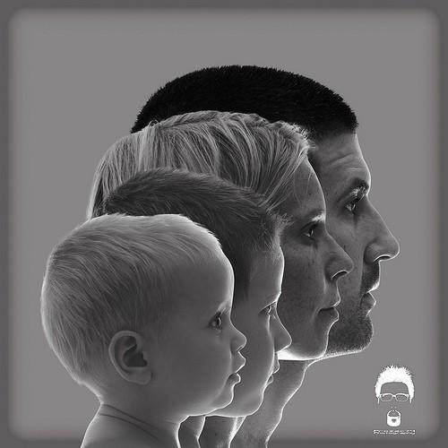 Подборка семейных фотографий