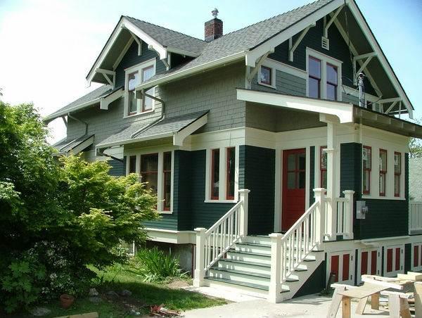 Цветовые схемы для фасада загородного дома15