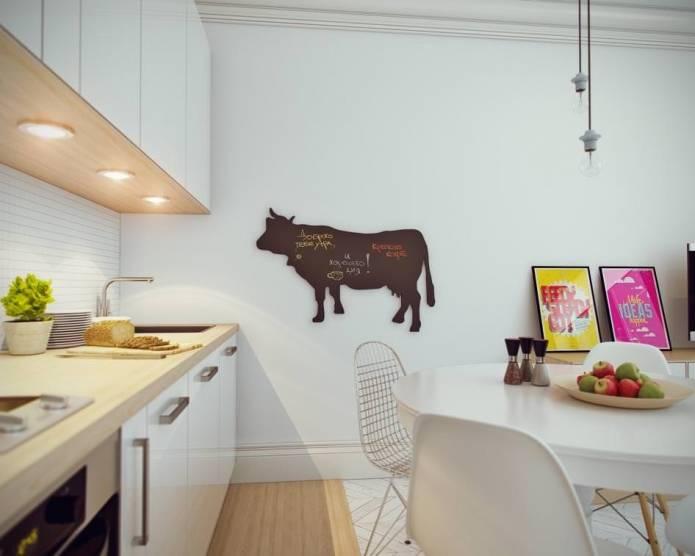 Интерьер маленькой квартиры-студии 24 кв. м. в скандинавском стиле (7)