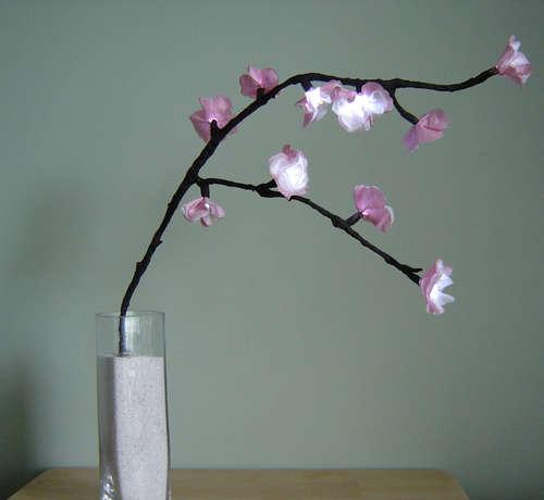 {своими руками} Горящее дерево вишни