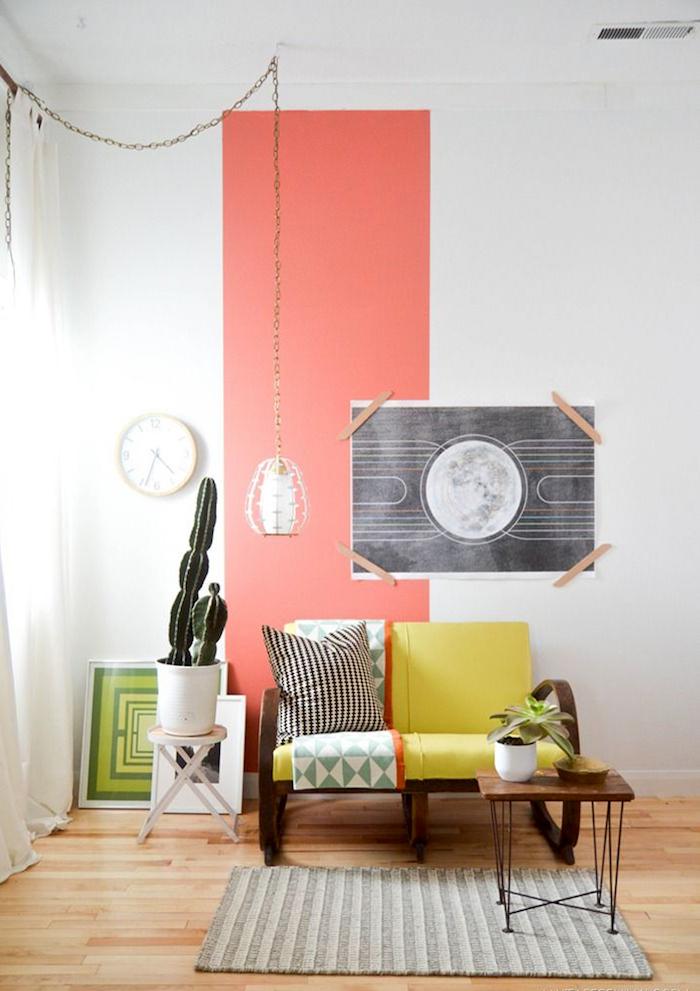 Акцентная стена в интерьере: 30 волшебных примеров