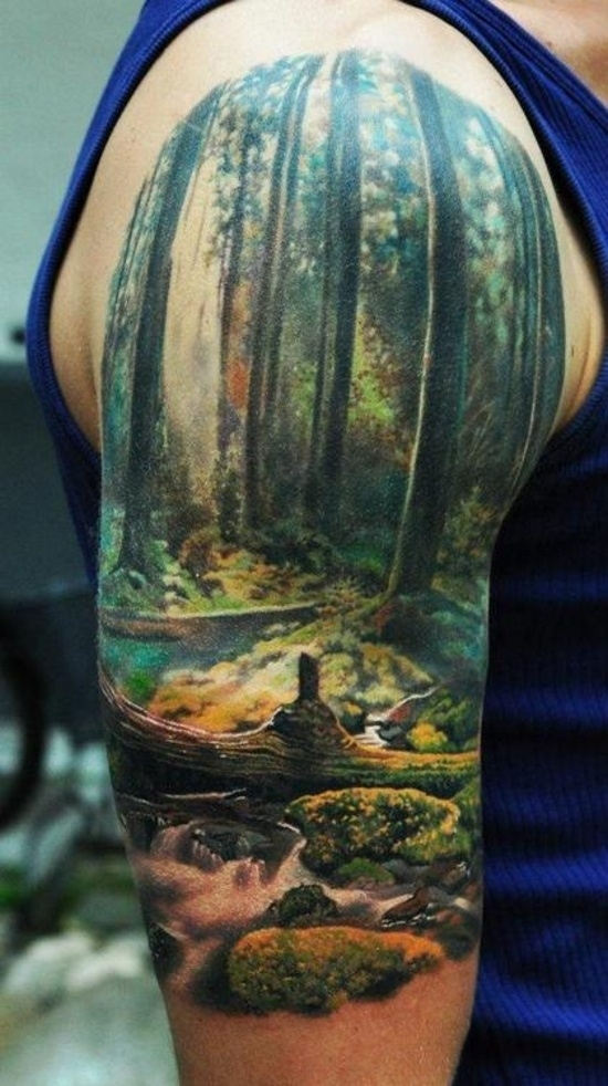 Великолепные татуировки {Nature}