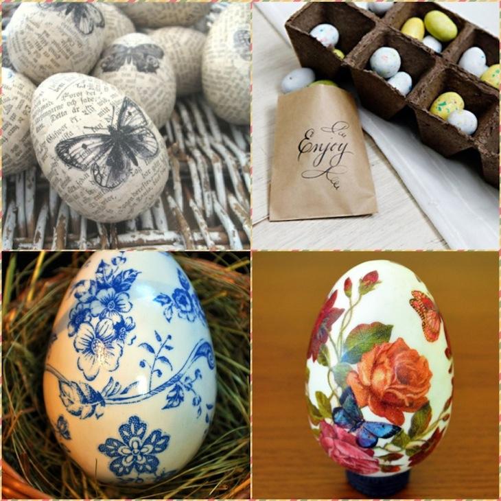 Украшаем пасхальные яйца, 60 Идей
