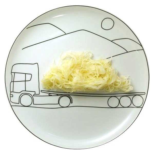 Игры с едой. Креативная посуда