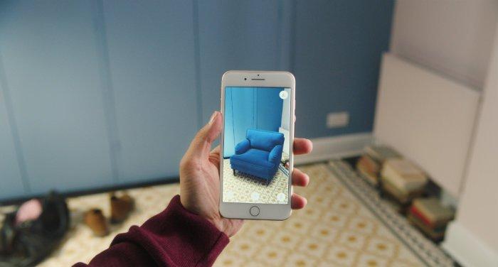 Новое приложение от IKEA позволяет визуализировать мебель в конкретной комнате