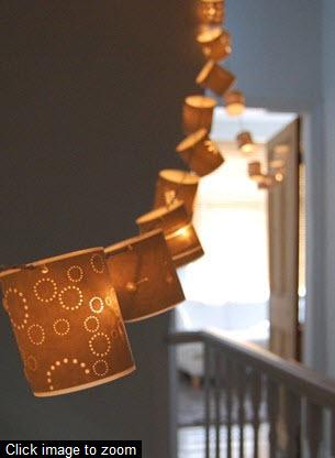 Креативные лампы из бумаги {20 идей}