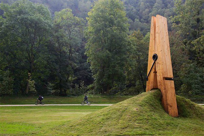 68 Удивительных инсталляций, взаимодействующих с природой