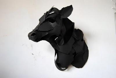 Скульптуры из бумаги {идея}