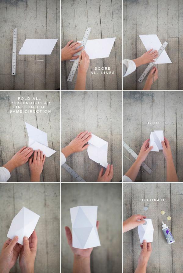 Ваза из бумаги {своими руками}