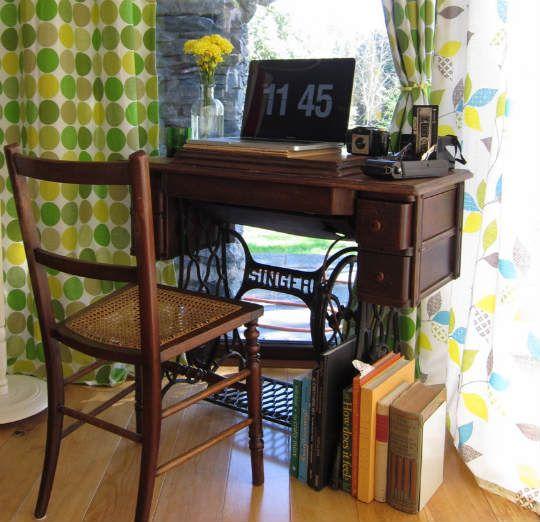 Новая жизнь старых швейных машин. ТОП 20