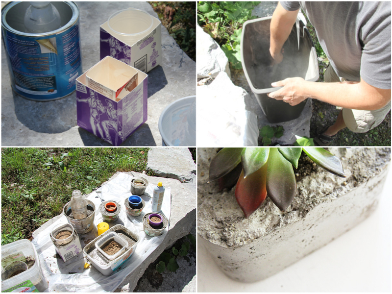 8 Интересных поделок из бетона